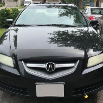 Acura TL (2004-2005) <br>FormFit Hood Protector