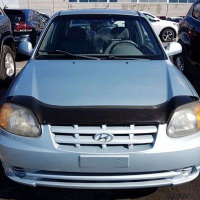 Hyundai Accent (2003-2005)<br>FormFit Hood Protector