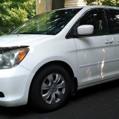 Honda Odyssey (2008-2010)FormFit Hood Protector