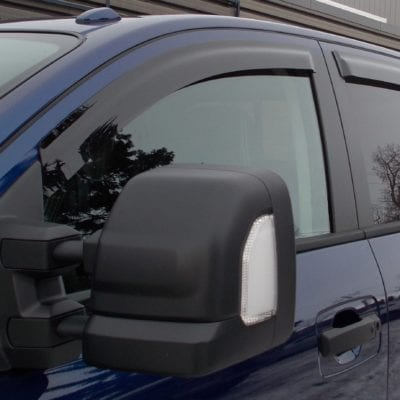Nissan Titan (2016-Up)FormFit Side Window Visors
