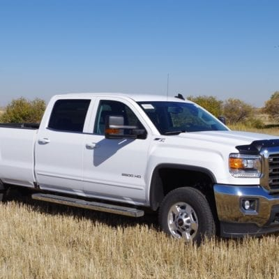 GMC Sierra HD 2500/3500 Gas Only (2015-2019) Textured Tough Guard