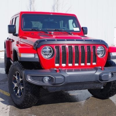 Jeep Wrangler JL (2018-2019) Textured Tough Guard