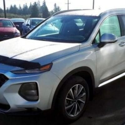Hyundai Santa Fe (2019-Up)<br>FormFit Hood Protector