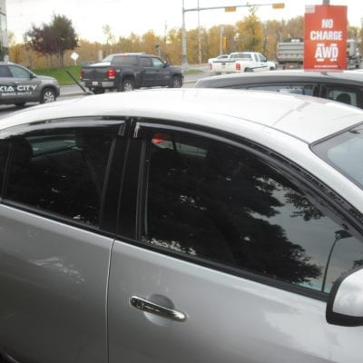 Nissan Versa Sedan (2007-2011)<br>FormFit Side Window Visors