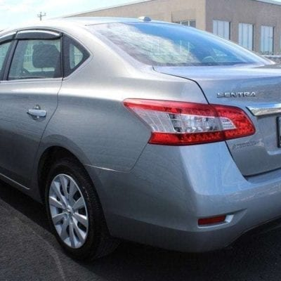 Nissan Sentra (2013-Up)FormFit Side Window Visors