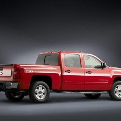 Chevrolet Silverado 1500<br>(2007-2013) Tough Visor <br>Crew Cab Only