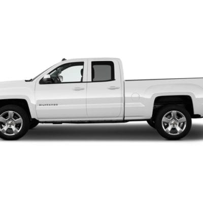 Chevrolet Silverado 1500<br>(2014-2018) Textured Tough Visors Double Cab Only