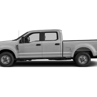 Ford SuperDuty (2017-Up)<br>Tough Visor – Super Crew Cab Only