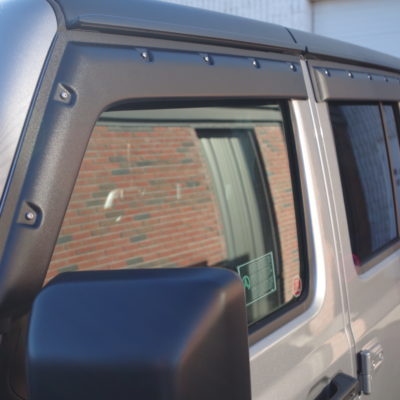 Jeep Wrangler JL – 2-Door Only (2018-Up) Tough Visors