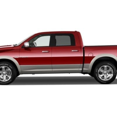 Dodge RAM 2500/3500 (2010-2019) Textured Tough Visors<br> Crew Cab Only