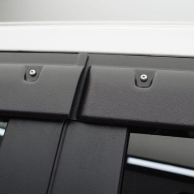 Dodge RAM 2500/3500 (2010-2019)<br>Textured Tough Visors<br> Quad Cab Only